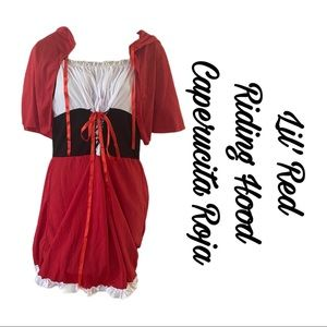 🎃 Red Riding Hood Costume for adult 🎃